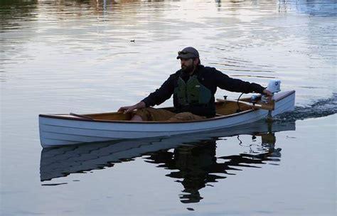 Canoes With Electric Motors by Canoe Motor Mount Ash Canoe Motor Mount 163 55 Heavy Duty