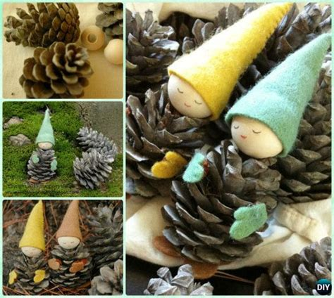 diy kids pine cone craft ideas projects picture instructions