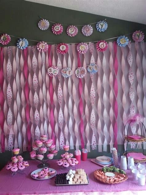 Decorating Ideas With Streamers by Birthday Decoration Ideas With Streamers Cheap Braesd