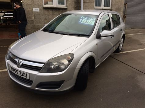 vauxhall astra 2005 2005 vauxhall astra 1 6 life 3 gms car sales