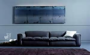 designer sofa a navy modern style sofa decoist