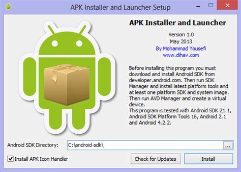 apk installer and launcher 1 0
