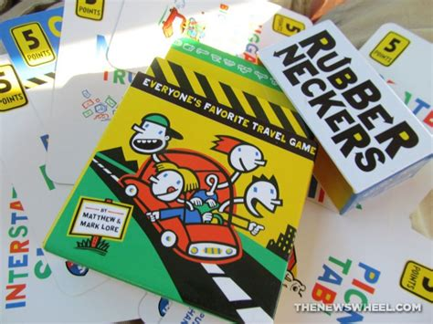 rubberneckers travel card game review  timeless road