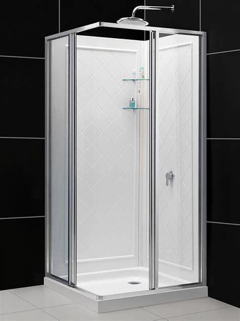 dreamline cornerview framed sliding shower enclosure