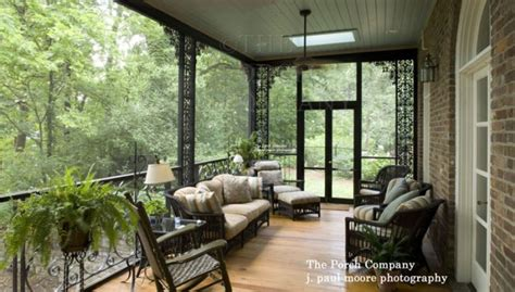Screened In Front Porch Decorating Ideas by Inspiring Screen Porches Pictures