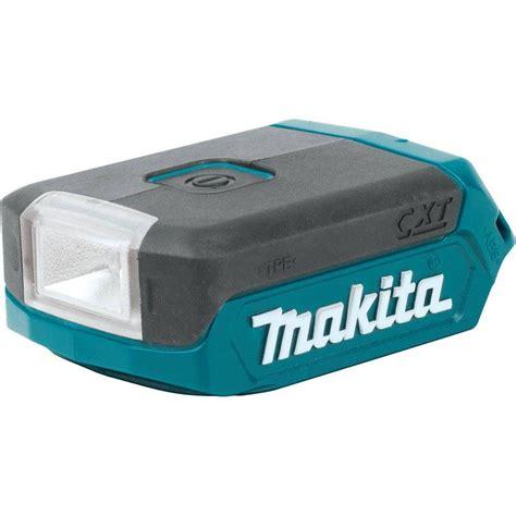 cordless l makita 12 volt max cxt lithium ion cordless l e d flashlight ml103 the home depot