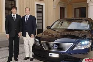 Voiture Monaco : le prince albert de monaco se mariera en lexus photo 7 l 39 argus ~ Gottalentnigeria.com Avis de Voitures