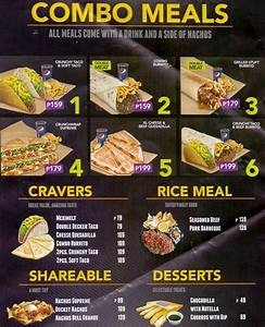 Taco bell menu value meals / Weight loss vitamins for women