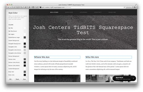 squarespace blog squarespace 6 web hosting ease of use and design outweigh