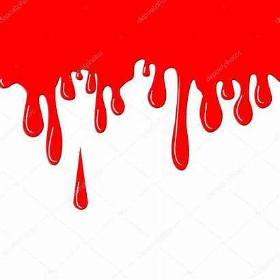 Paint Drops Clipart Flowing Drips Dripping Illustration