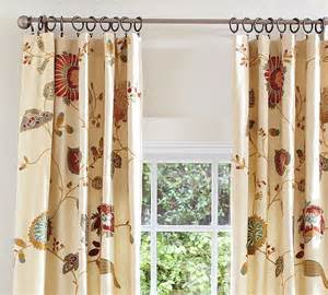 2 pottery barn margaritte embroidered drapes 50 x 84