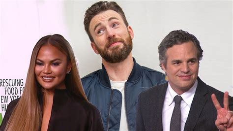 Mark Ruffalo and Chrissy Teigen Respond to Chris Evans ...