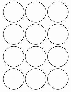flour confections With 1 inch circle template free