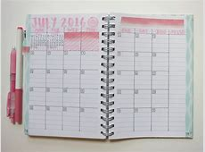 Our Journey in Journals July Bullet Journal Setup
