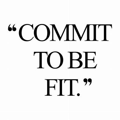 Fitness Inspiration Quote Commit Motivation Workout Quotes