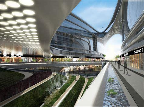 AECCafe: Sky SOHO in Shanghai, China by Zaha Hadid Architects