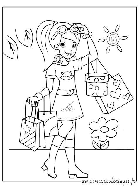 dessin de fille 43 dessins de coloriage de fille 224 imprimer
