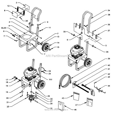 briggs and stratton power products 1055 0 580 761810 1 800 psi craftsman parts diagram for
