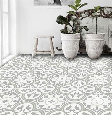 patterned peel stick floor tiles   decorating bathroom floor tiles peel stick