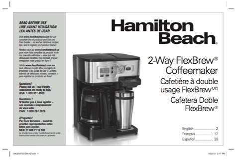 Question what is the difference between a hamilton beach # 49976 & a model # 49940 ? Hamilton Beach Flexbrew Single Manual