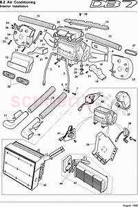 Aston Martin Db7  1995  Interior Installation Parts