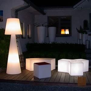 lampadaire pivot blanc h200cm slide luminaires nedgis With terrasse lampe