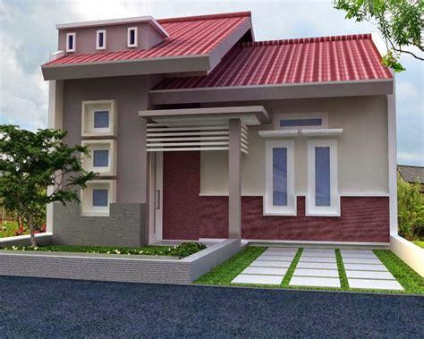 model rumah sederhana  satu lantai terbaru