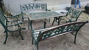 Salon De Jardin Romantique : salon de jardin fonte royal sofa id e de canap et ~ Dailycaller-alerts.com Idées de Décoration