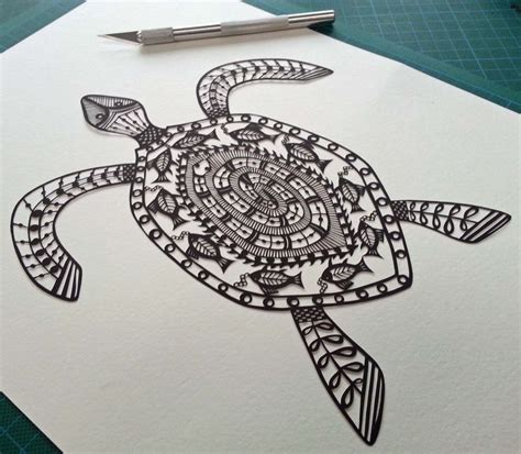 turtlemandala cool tattoos pinterest