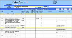 project management plan template excel word calendar With project plan template pmi