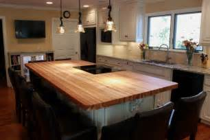 kitchen islands with butcher block top wood top kitchen island kitchen traditional with butcher block hickory counter beeyoutifullife