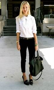 31 Black & White Work Outfits For Women 2018 | FashionGum.com