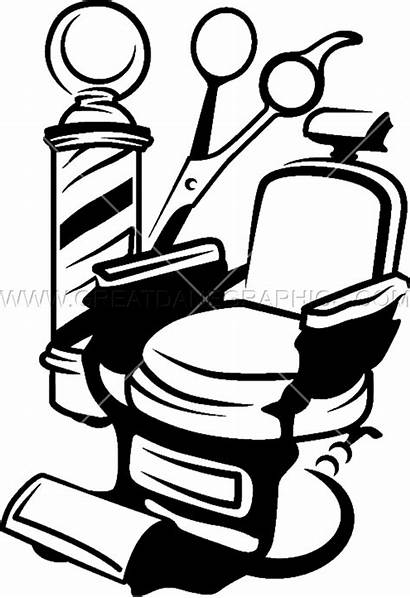 Barber Clipart Vector Clippers Chair Clip Transparent