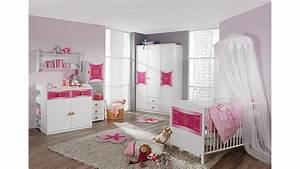 Kinderzimmer In Weiß : babyzimmer kate kinderzimmer in wei und rosa 3 teilig ~ Indierocktalk.com Haus und Dekorationen