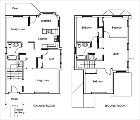 house floor plans stairs pinned  wwwmodlarcom