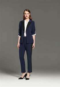tendance chic pour vous le tailleur pantalon femme With nice quelle couleur avec le bleu marine 17 la chemise bleue