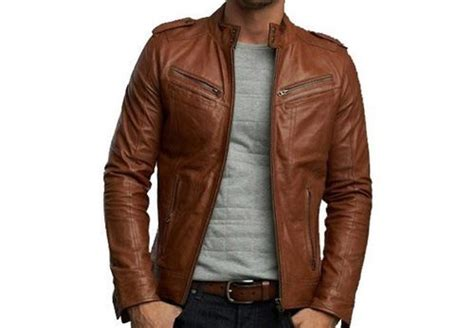 On Men Pure Leather Jacket, Rs 2800 /piece, Aqsa Marketing