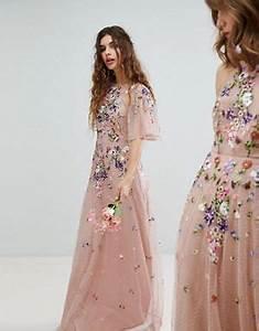 robes robes de soiree robes de bal de promo et maxi With chambre bébé design avec robe fluide a fleurs