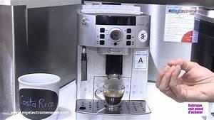 Machine À Moudre Le Café : delonghi machine caf magnifica ecam youtube ~ Melissatoandfro.com Idées de Décoration