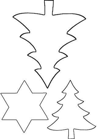 Wenn euch ein a4 bogen zu klein ist, für euer grosses geschenkpapier mit sternen. Vorlage für Sterne und Bäume   Bastelvorlagen weihnachten ...