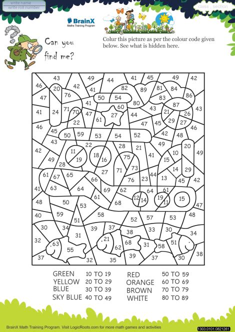 find   math worksheet  grade