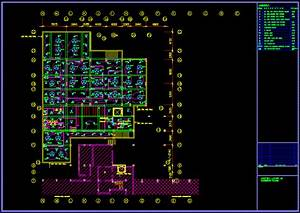 Hotel Plan Electrical Layout In Autocad