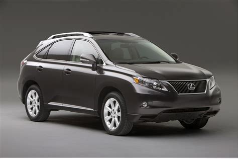2010 Lexus Rx 350 Technical Specifications And Data
