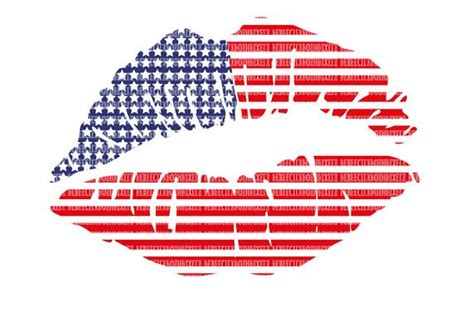 243 free images of fourth of july. USA Lips, Usa Kiss SVG Files for Cricut, Design Space and ...