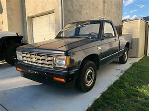 1988 Chevrolet S10 2wd Reg Cab Short Bed 2 5 4cyl 5 Speed