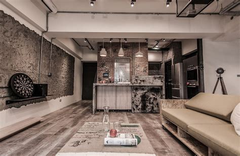 pc house industrial interior design  formo design studio