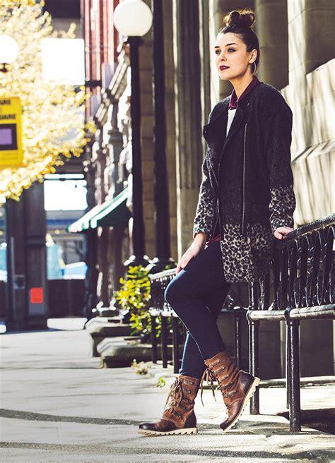 sorel winter boots boot footwear wear womens mens kicking lifestyle feet storm autumn direct
