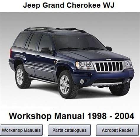 free download parts manuals 1999 jeep grand cherokee auto manual jeep grand cherokee wj workshop service manual 1998 2004 download