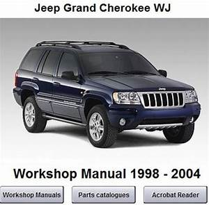 Jeep Grand Cherokee Wj Workshop Service Manual 1998