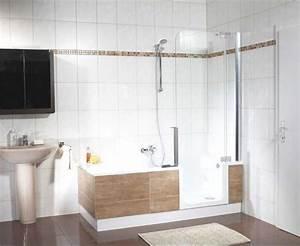 Badewanne Mit Dusche Kombiniert : dusche mit badewanne kombiniert und t r in der gestaltung der l ndlichen komplett mit keramik ~ Sanjose-hotels-ca.com Haus und Dekorationen
